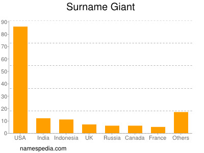 Surname Giant