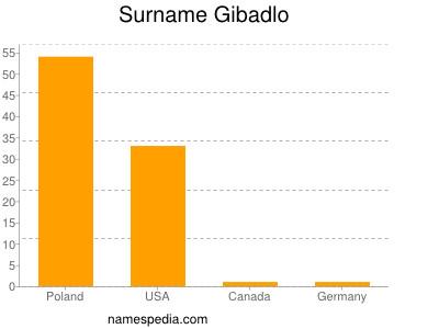 Surname Gibadlo