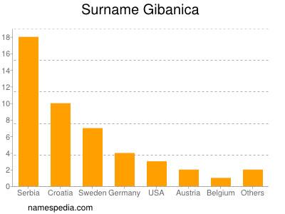 Surname Gibanica