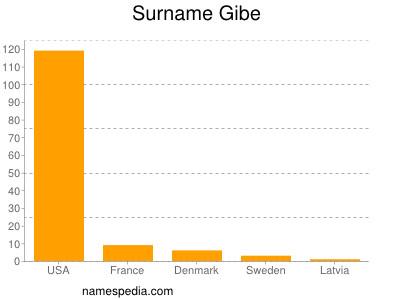 Surname Gibe