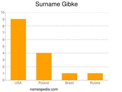 Surname Gibke