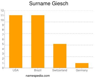 Surname Giesch