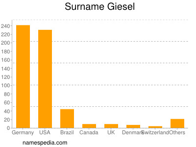 Surname Giesel