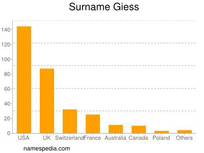 Surname Giess
