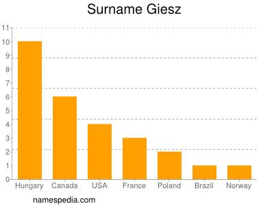 Surname Giesz