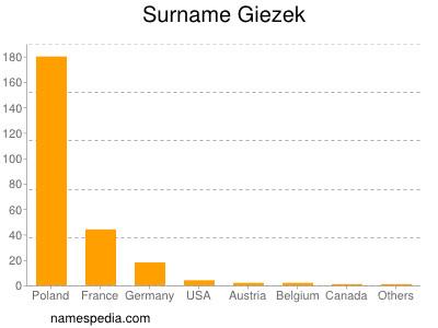 Surname Giezek