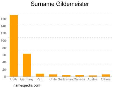Surname Gildemeister