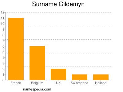 Surname Gildemyn
