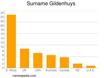 Surname Gildenhuys