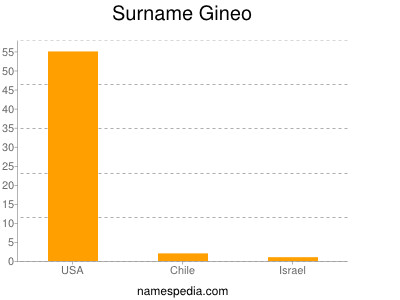 Surname Gineo