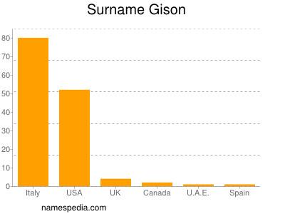 Surname Gison