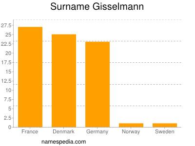 Surname Gisselmann