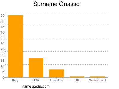 Surname Gnasso