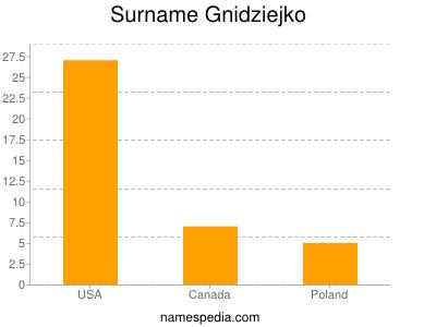 Surname Gnidziejko