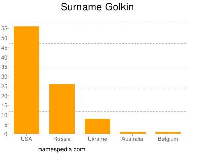 Surname Golkin