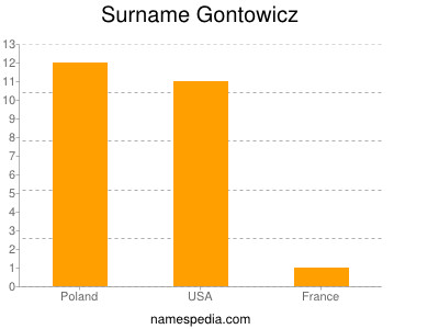 Surname Gontowicz