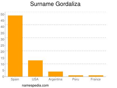 Surname Gordaliza