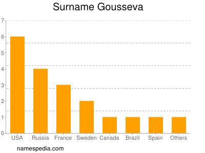 Surname Gousseva