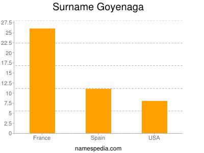 Surname Goyenaga