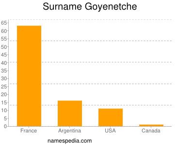 Surname Goyenetche