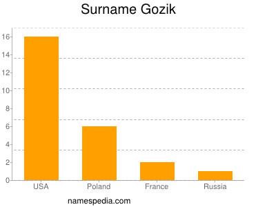 Surname Gozik