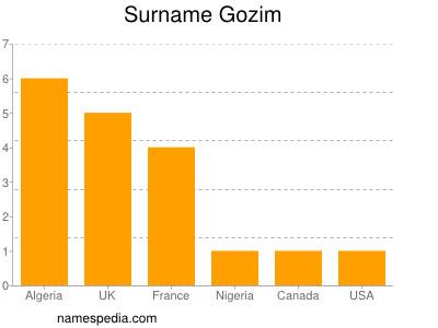 Surname Gozim