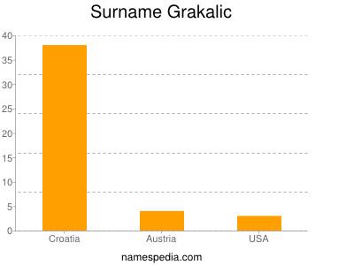 Surname Grakalic
