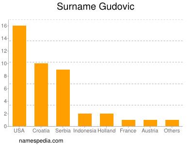Surname Gudovic