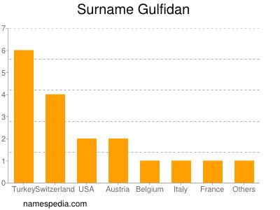 Surname Gulfidan