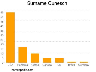 Surname Gunesch