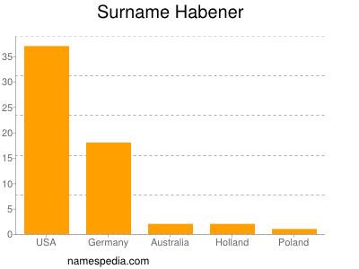 Surname Habener