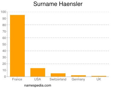Surname Haensler