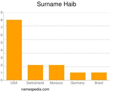 Surname Haib