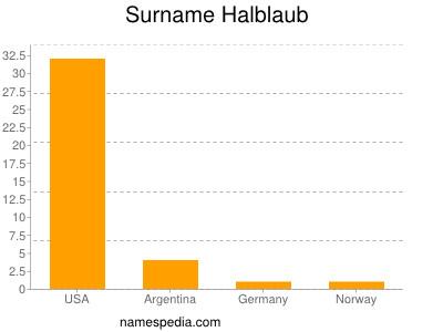 Surname Halblaub