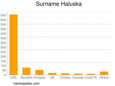 Surname Haluska