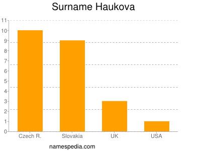 Surname Haukova