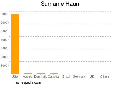 Surname Haun