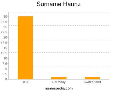 Surname Haunz