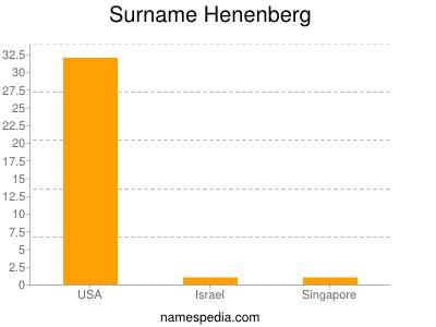 Surname Henenberg