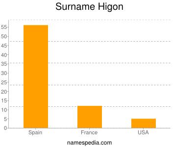 Surname Higon