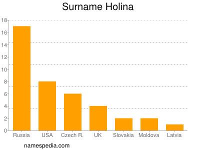 Surname Holina