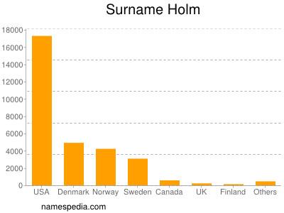 Surname Holm