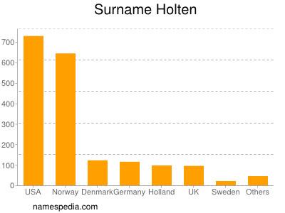 Surname Holten