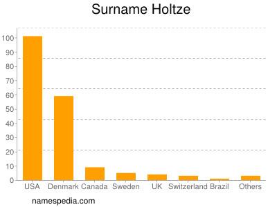 Surname Holtze