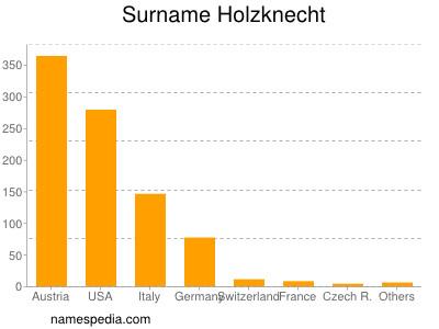 Surname Holzknecht