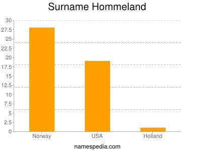 Surname Hommeland