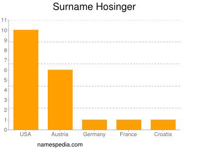 Surname Hosinger