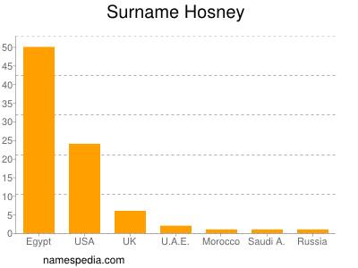 Surname Hosney