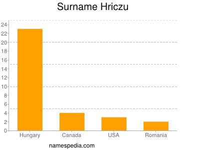 Surname Hriczu