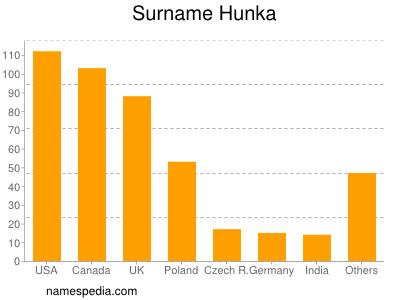 Surname Hunka